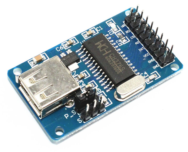 Read and write to USB thumb drive with Arduino using CH376 USB Drive Interface Modules from PMD Way with free delivery worldwide