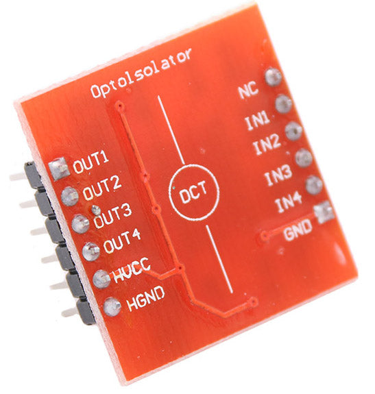 Useful Compact 4 Channel Optocoupler Module from PMD Way with free delivery worldwide