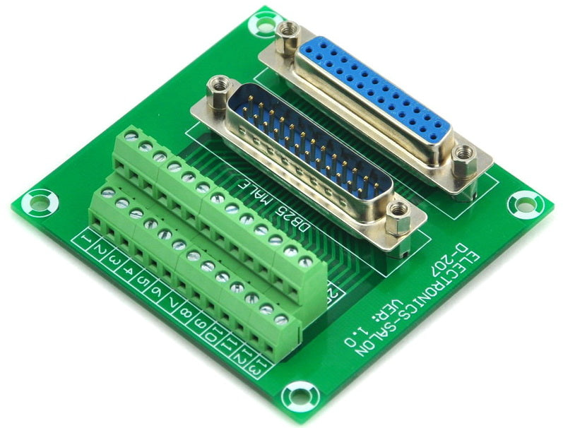 Great value DB25 Male and Female Breakout Board from PMD Way with free delivery worldwide