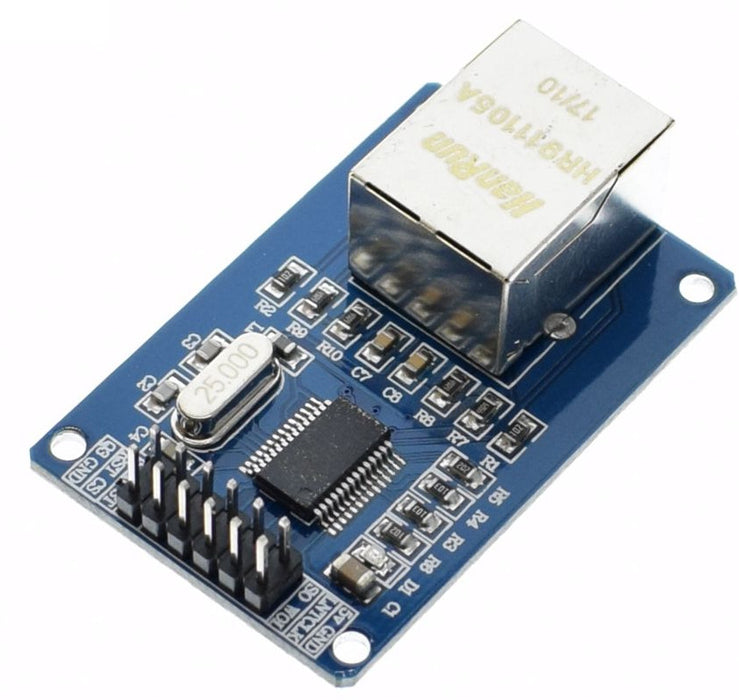 Add Ethernet to your development board or Arduino with ENC28J60 Network Development Board Module from PMD Way with free delivery worldwide