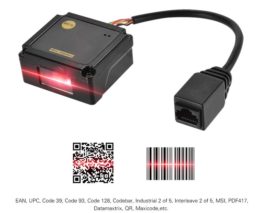 Great value Embedded CCD Barcode QR Scanner Module from PMD Way with free delivery, worldwide