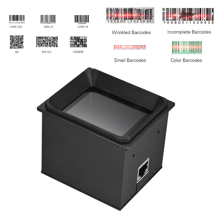 Great value Embedded High Speed Barcode QR Scanner for POS and rapid scanning requirements from PMD Way with free delivery, worldwide