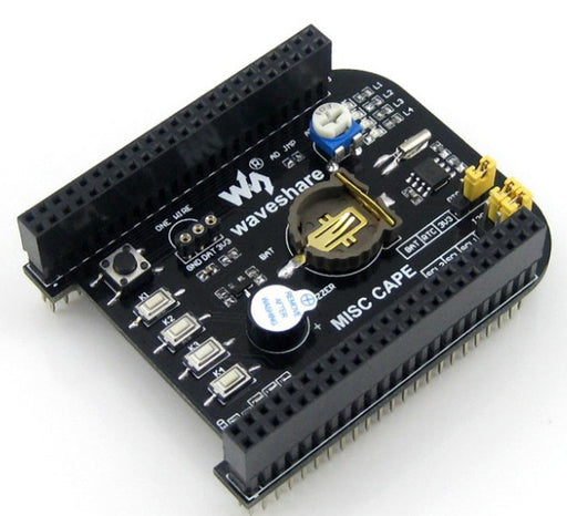 Add a real-time clock and more to your BeagleBone Black with the Experimenter Real Time Clock Cape for BeagleBone Black from PMD Way with free delivery, worldwide