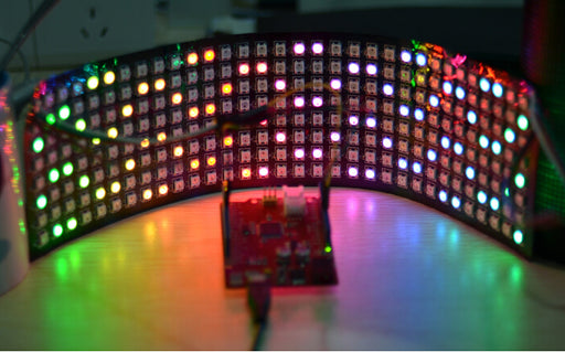 Flexible SK6812 32x8 256 RGB LED Panel from PMD Way with free delivery worldwide