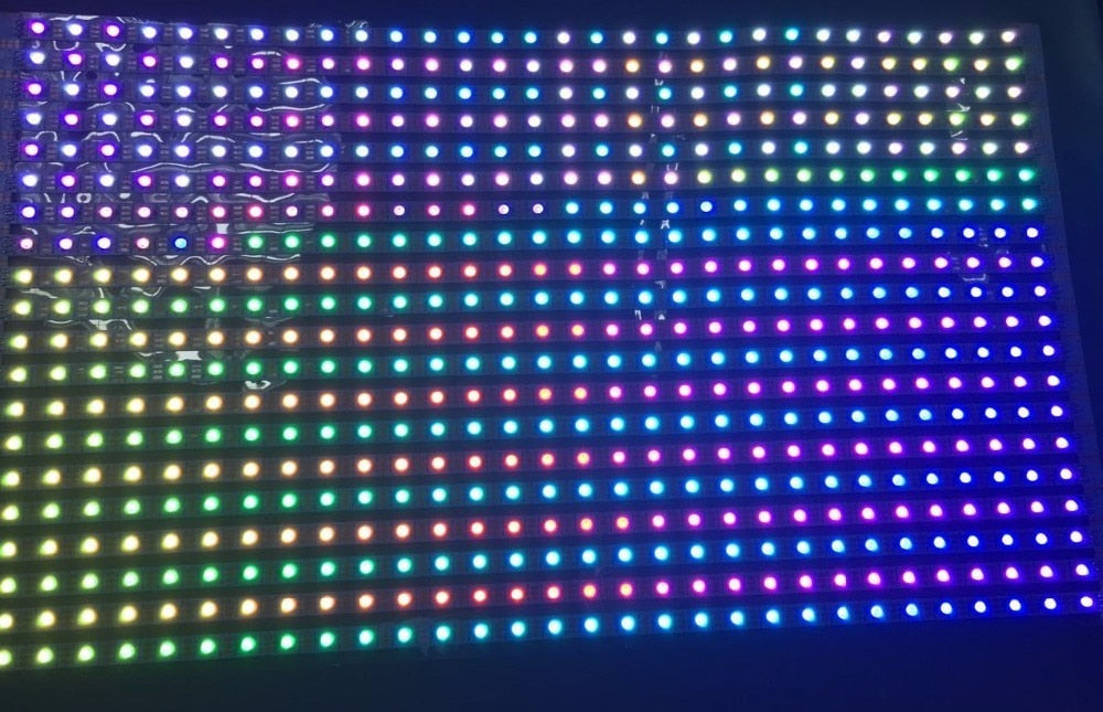Flexible 30 x 24 WS2813 RGB LED Panels from PMD Way with free delivery worldwide