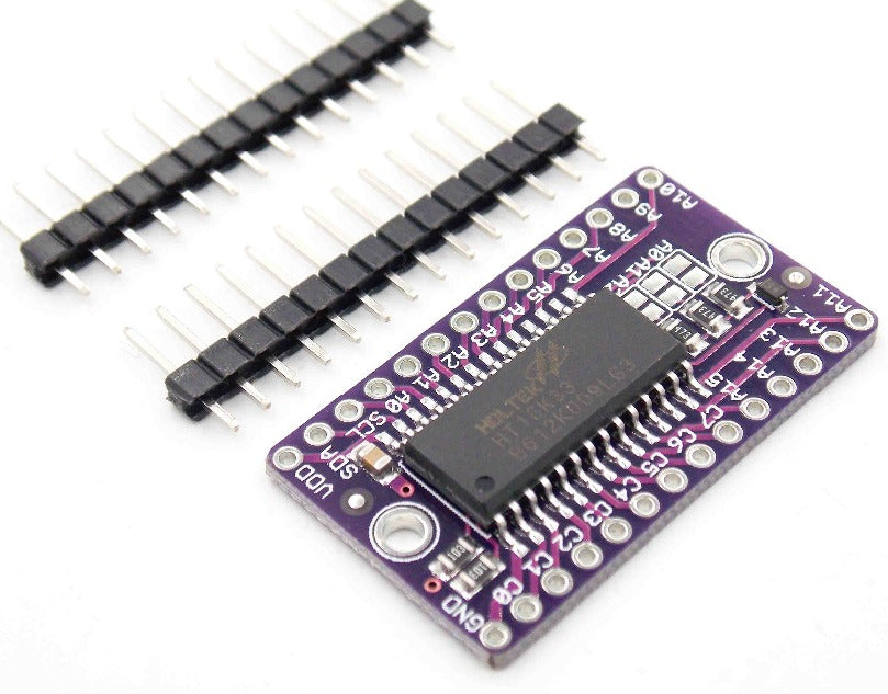 Incredibly useful HT16K33 LED Driver IC Breakout Boards in packs of ten from PMD Way with free delivery worldwide
