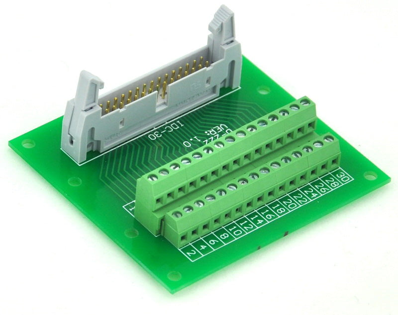 "Great value IDC Cable Breakout Board - 30 pin (2x15) 0.1"" from PMD Way with free delivery worldwide"
