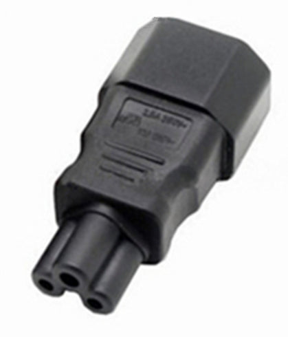 Useful IEC 3-pin socket to C5 Male Adaptor from PMD Way with free delivery worldwide
