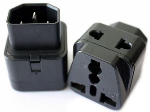 Convert an IEC cable to a universal AC socket with this IEC socket to Universal AC Socket adaptor from PMD Way with free delivery worldwide