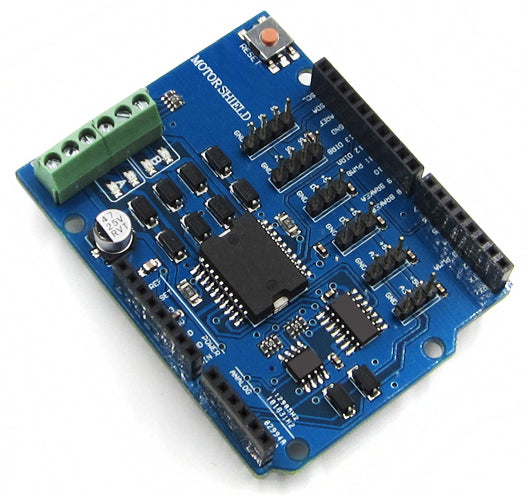 L298P 2A HBridge Motor Shield for Arduino