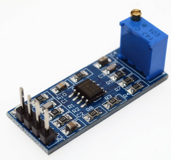 Compact and great value LM358 100x Gain OPAMP Module from PMD Way with free delivery worldwide