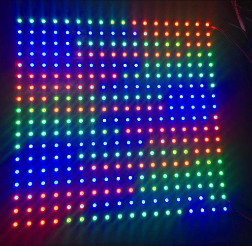 Large SK6812 18x18 324 RGB LED Panel from PMD Way with free delivery worldwide