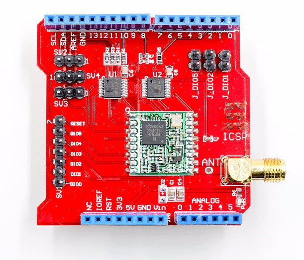 LoRa Wireless Data Shield for Arduino from PMD Way with free delivery worldwide