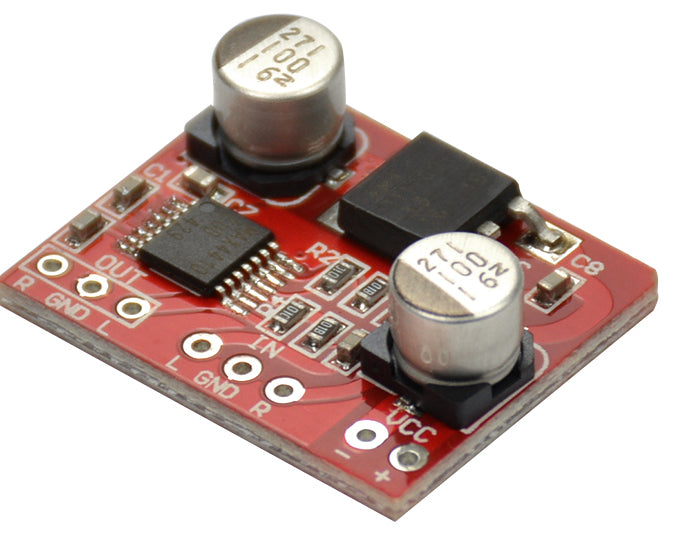 Build a headphone amplifier with the MAX4410 HiFi Headphone Amplifier Board from PMD Way with free delivery worldwide