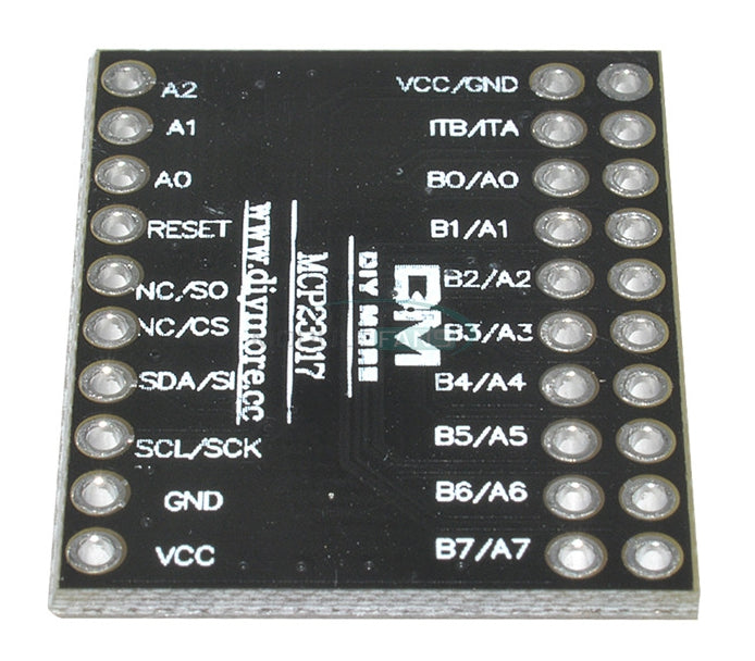 Useful MCP23017 I2C 16-bit Port Expander Breakout Boards in packs of ten from PMD Way with free delivery worldwide