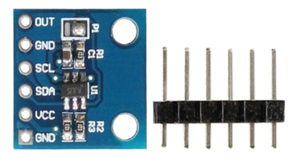 Compact MCP4725 I2C 12-Bit DAC Breakout Board from PMD Way with free delivery worldwide