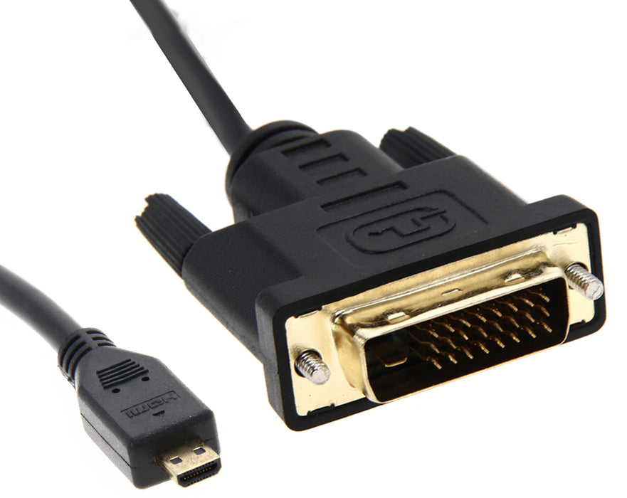 Quality Micro HDMI to DVI Video Cables from PMD Way with free delivery worldwide