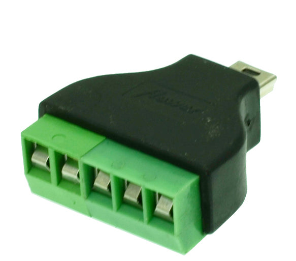 Useful Mini USB Plug to Terminal Block from PMD Way with free delivery worldwide