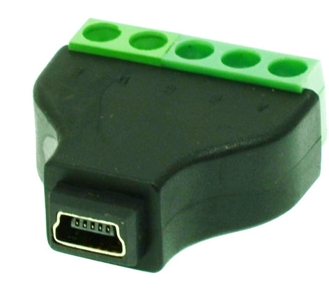Useful Mini USB Socket to Terminal Block from PMD Way with free delivery worldwide