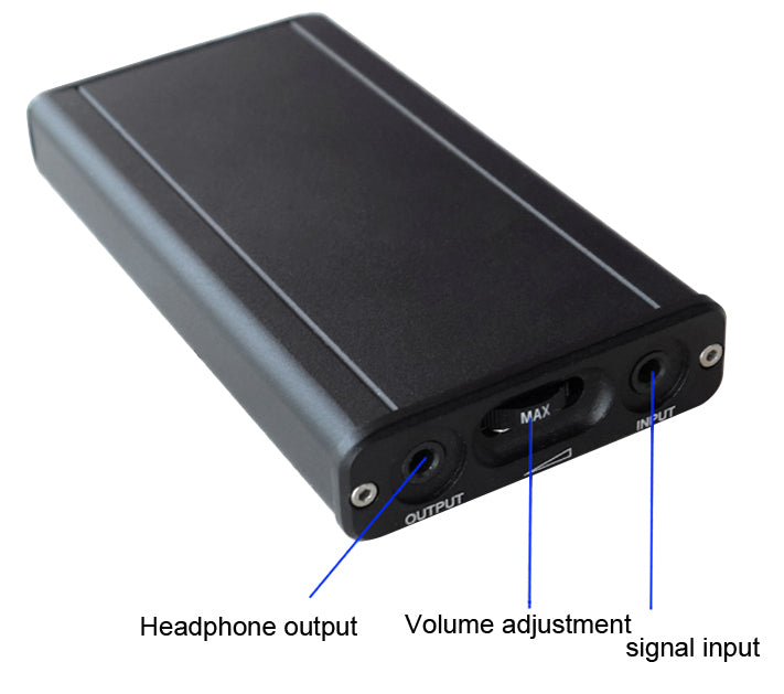 Improve your headphone listening experience with the OPA2107 Class A Portable Headphone Amplifier from PMD Way with free delivery worldwide