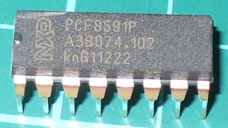 PCF8591 8-bit ADC and DAC ICs in packs of ten from PMD Way with free delivery worldwide