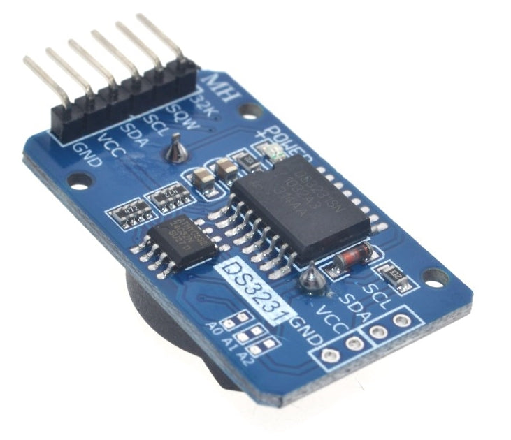 Keep accurate time and date using Arduino and more with the Precision DS3231 Real Time Clock with AT24C32 EEPROM Modules in packs of ten from PMD Way with free delivery worldwide