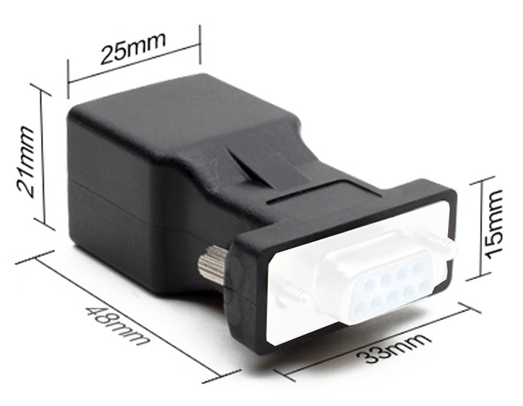 Useful RJ45 to 15pin VGA Female Adaptor from PMD Way with free delivery worldwide