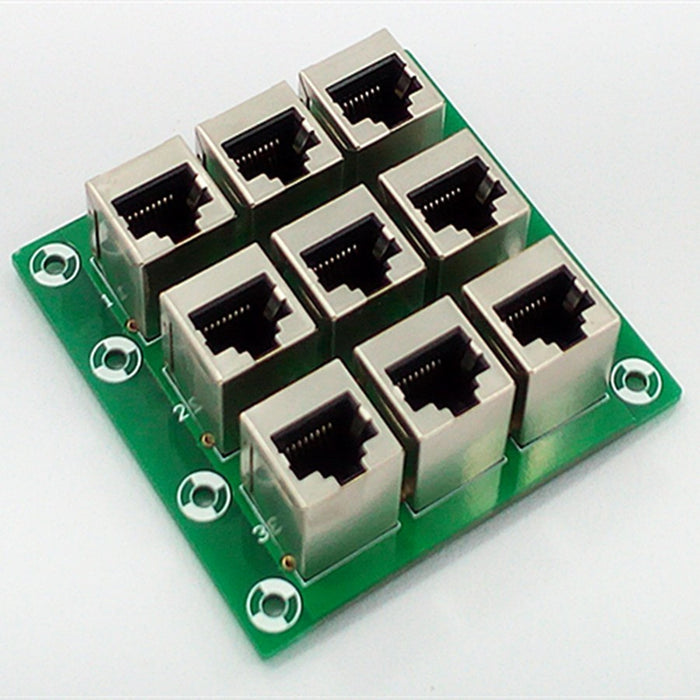Useful RJ45 8P8C 9-Way Buss Breakout Board from PMD Way with free delivery worldwide