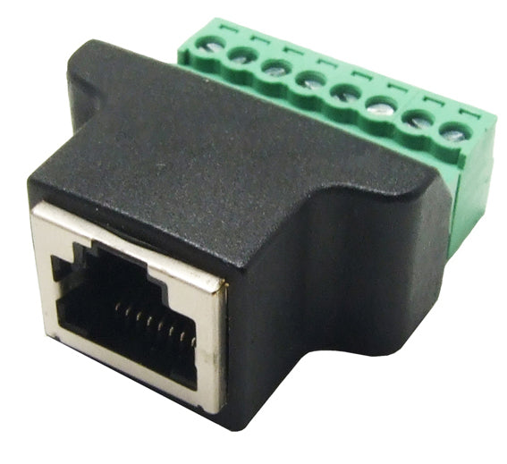 RJ45 Male and Female Breakout Set