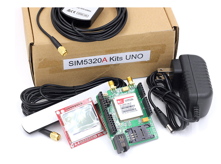Get your Arduino talking over the cellular network with the SIM5320A 3G GPRS GSM Shield for Arduino with GPS from PMD Way with free delivery worldwide