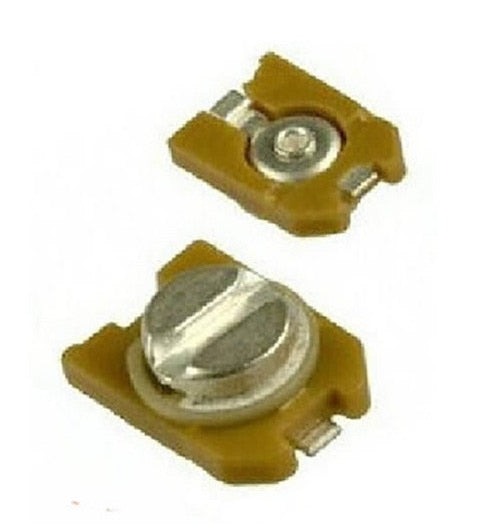 Great value SMD Adjustable Trimmer Capacitors in packs of ten from PMD Way with free delivery worldwide