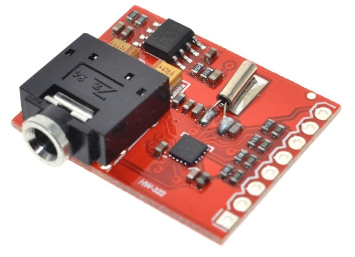 Make a microcontroller driven radio with the Si4703 RDS FM Radio Tuner Evaluation Breakout Board from PMD Way with free delivery worldwide