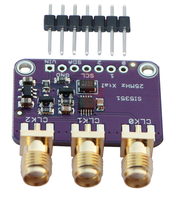 Excellent Si5351 Clock Generator Breakout Board - SMA Connectors from PMD Way with free delivery worldwide