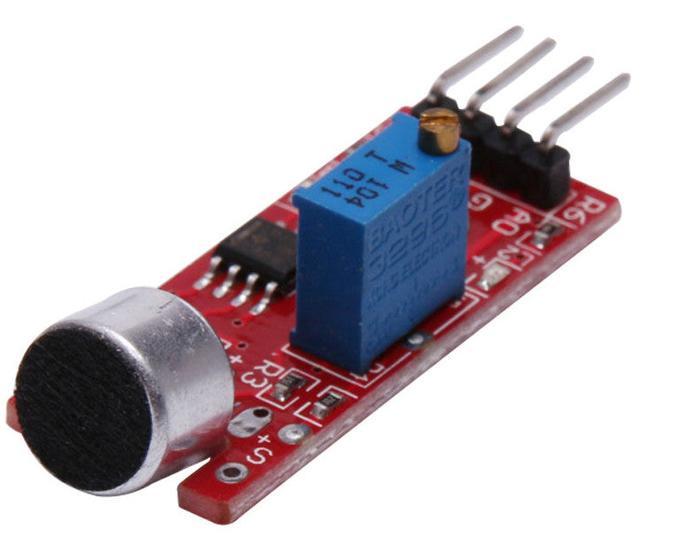 Great value Sound Sensor Modules in packs of ten from PMD Way with free delivery worldwide