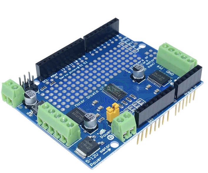 Control DC motors and stepper motors using the TB6612 Dual Stepper and DC Motor Shield for Arduino from PMD Way with free delivery, worldwide
