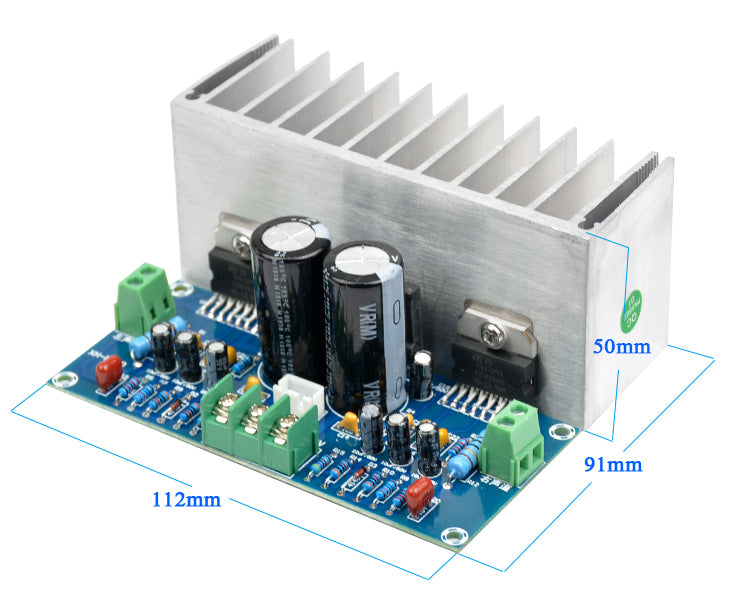 Excellent value TDA7293 100W x 2 Stereo Amplifier Board from PMD Way with free delivery worldwide