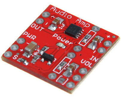 Useful TPA2005D1 250Khz class-D Mono Audio Amplifier Breakout Board from PMD Way with free delivery worldwide