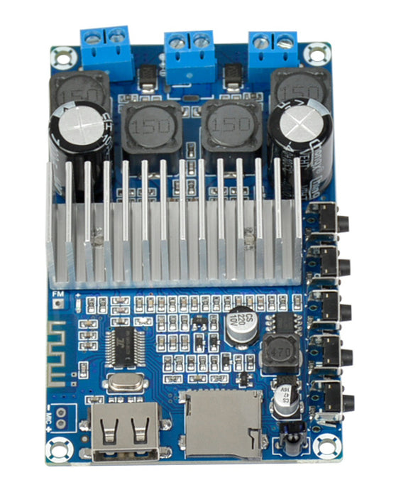 Rock out a pair of speakers with the TPA3116D2 50W x 2 Bluetooth 4.2 Amplifier MP3 Board from PMD Way with free delivery, worldwide