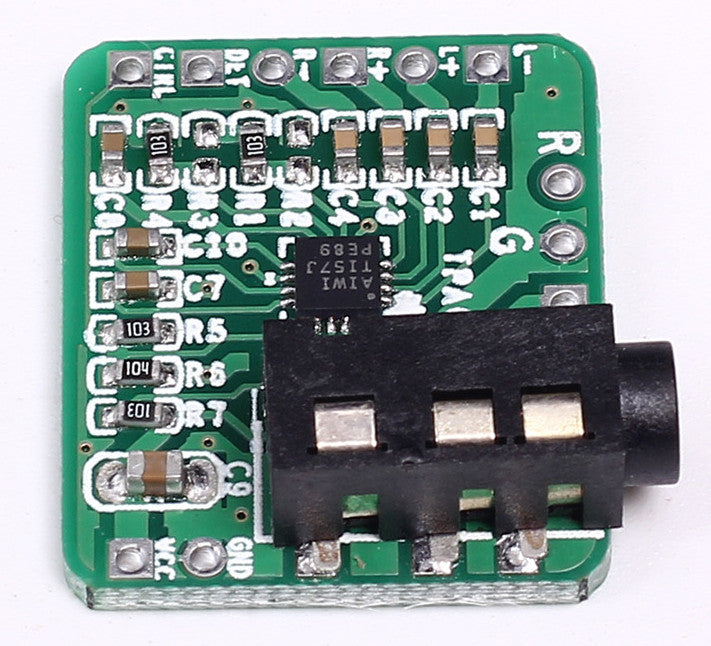 Power your headphones from a line-level audio source using TPA6132 Differential-Balance Headphone Amplifier Board with Socket from PMD Way with free delivery worldwide