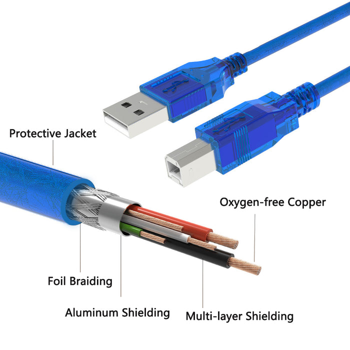 Quality USB A Plug to USB B Plug Arduino Cables for Printers, Ardino and more from PMD Way with free delivery worldwide
