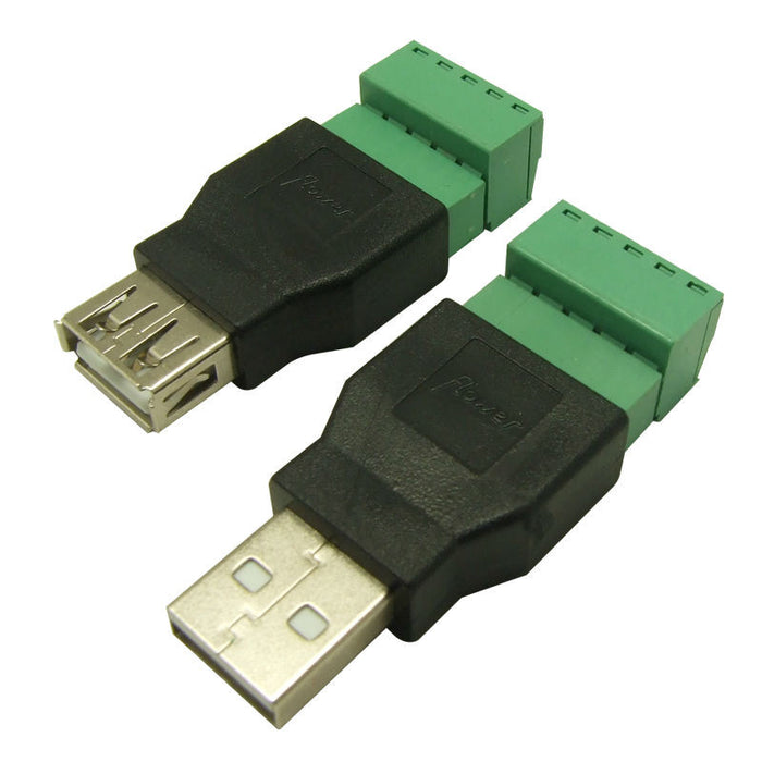 Useful USB A Plug to Terminal Block from PMD Way with free deliery worldwide