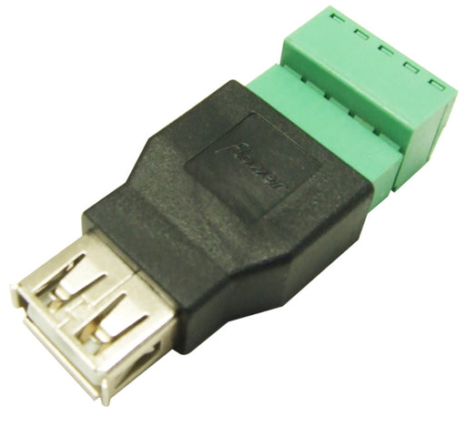 Useful USB A Socket to Terminal Block from PMD Way with free delivery worldwide