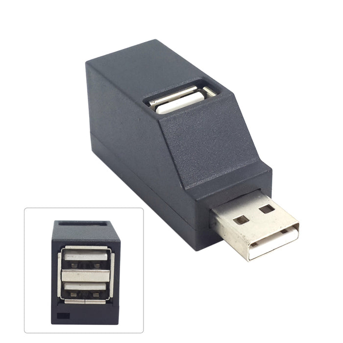 Useful USB Male to Three Female Socket Adaptors from PMD Way with free delivery worldwide