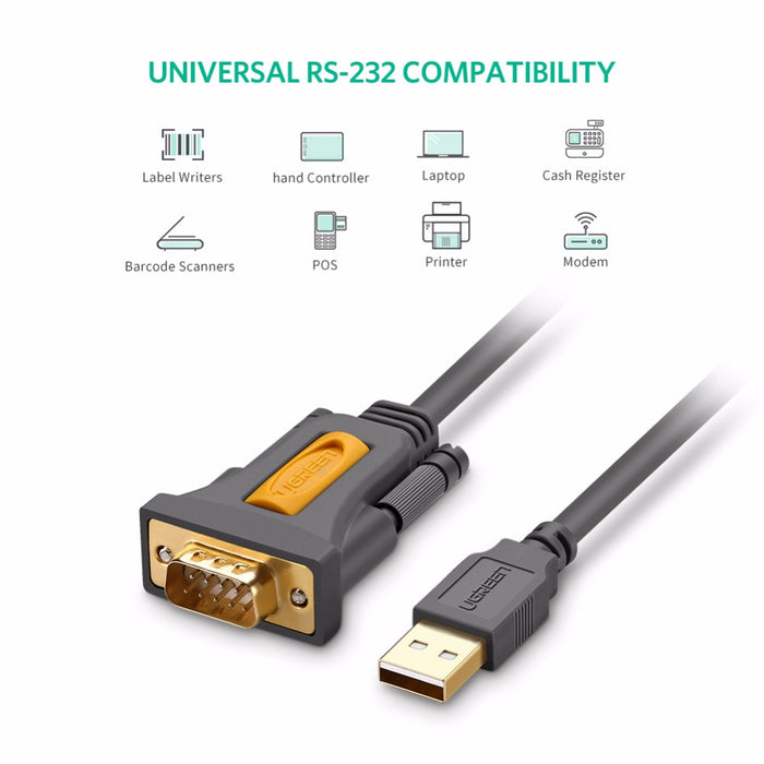 Useful USB to RS232 DB9 Male Serial Cable from PMD Way with free delivery worldwide