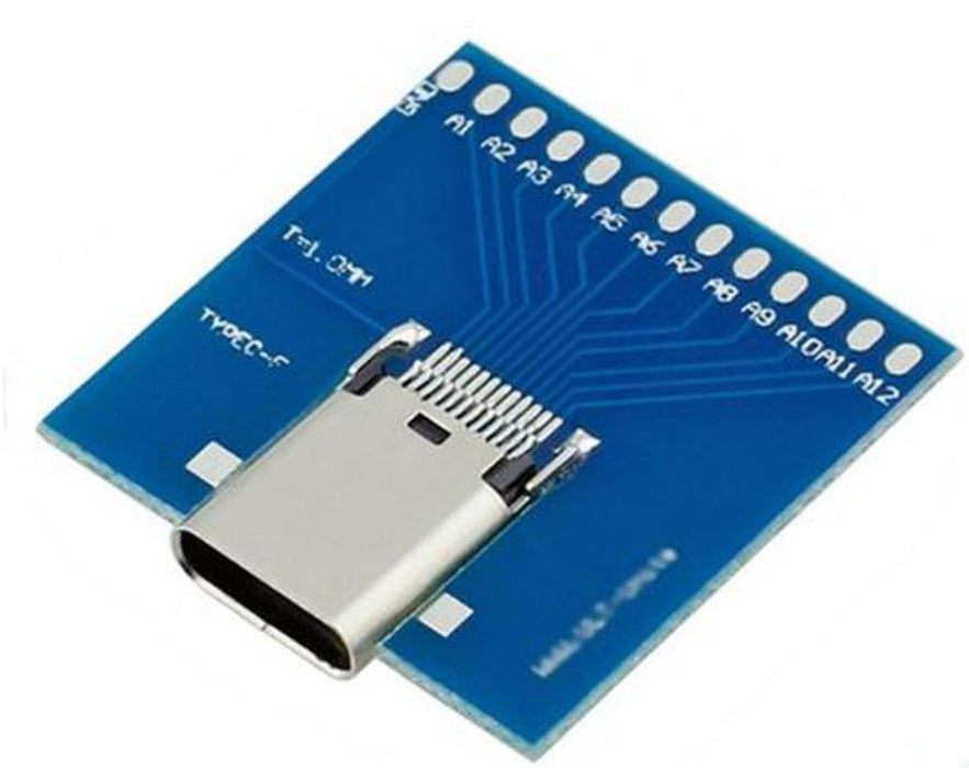 Useful USB 3.1 Type C Socket Breakout Board from PMD Way with free delivery worldwide
