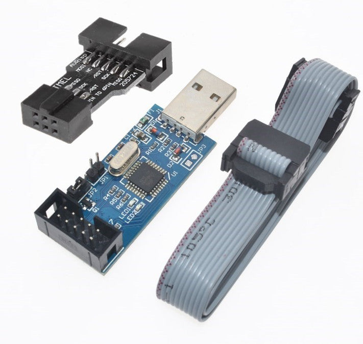 Program your Arduino or AVR with the USBasp ISP Programmer for AVR and Arduino Bundle from PMD Way with free delivery, worldwide