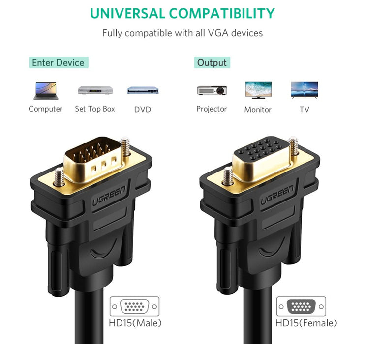 Quality VGA Video HD Extension Cables from PMD Way with free delivery worldwide