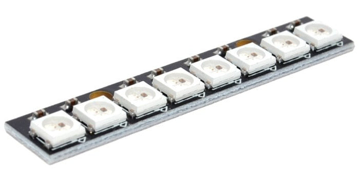 WS2812B Eight LED Stick from PMD Way with free delivery worldwide
