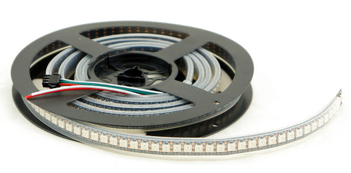WS2812B RGB LED Strip - 144 LED/m - 1m Roll - Black PCB - IP65 from PMD Way with free delivery worldwide