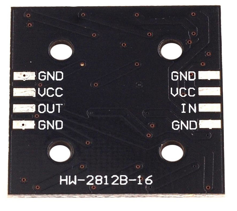 WS2812B Square Sixteen LED Board from PMD Way with free delivery worldwide